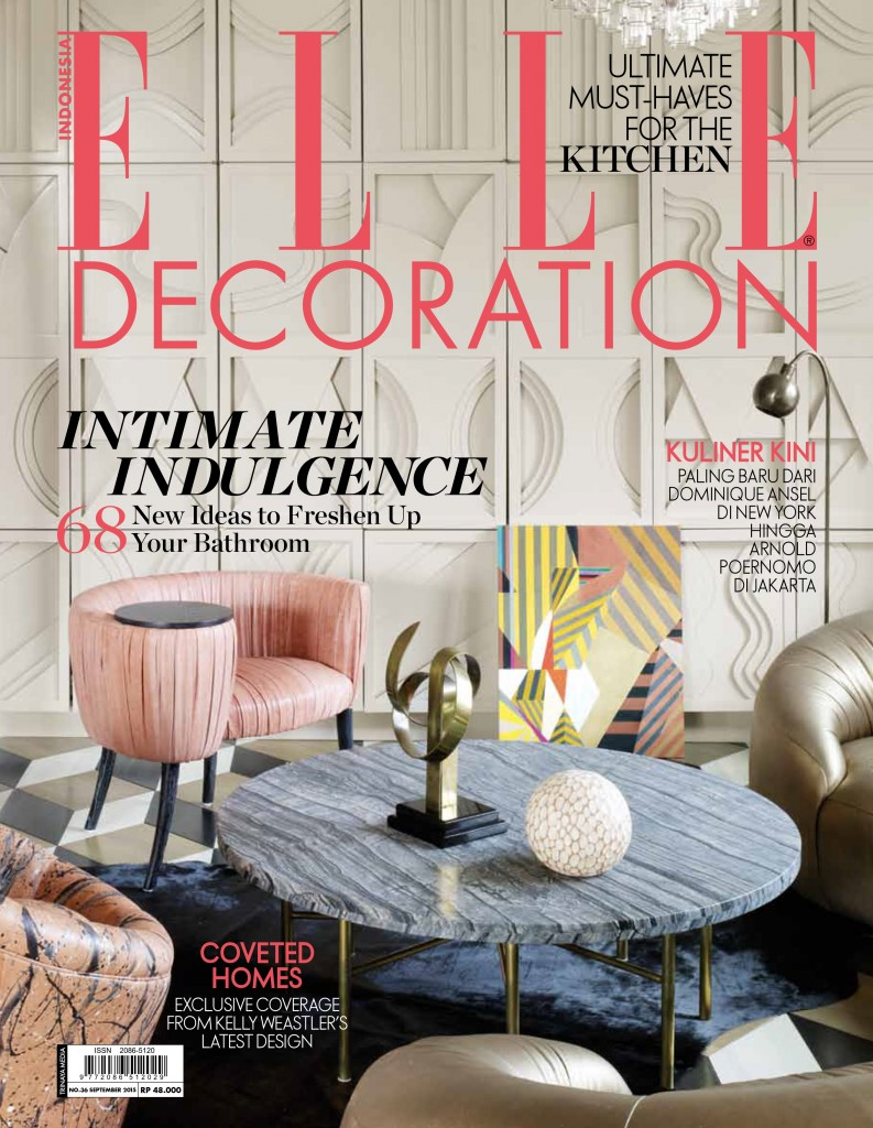 COVER ELLE DECOR 36 SEPT 2015