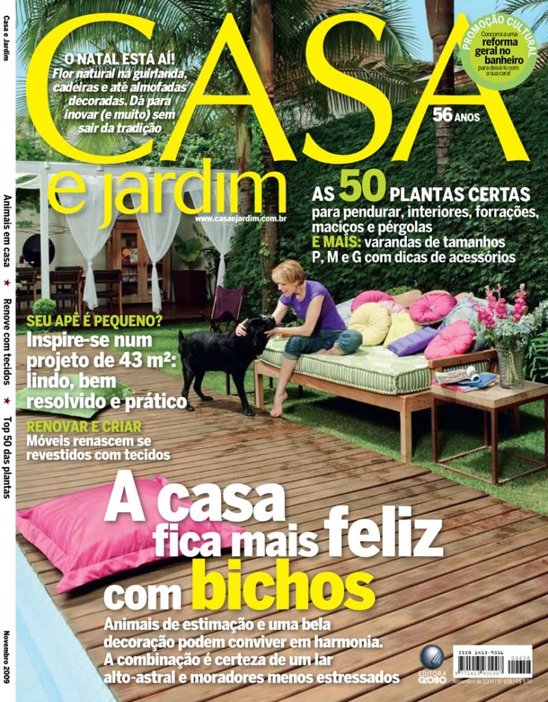 Casa e Jardim_Cover_Nov 2009