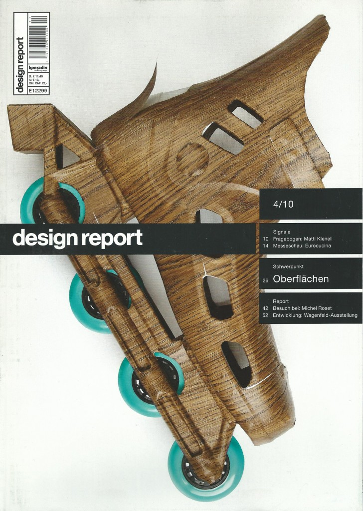 Design report cover