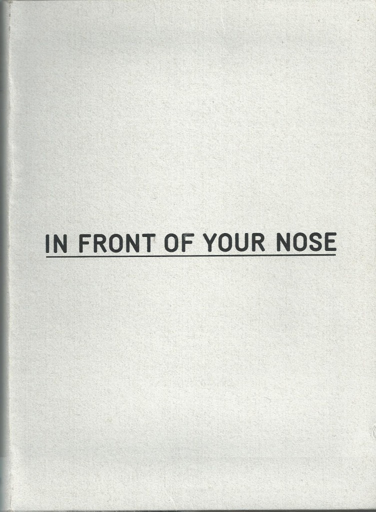 In Front of your nose_Cover