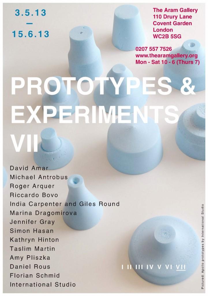 Prototypes & Experiment VII